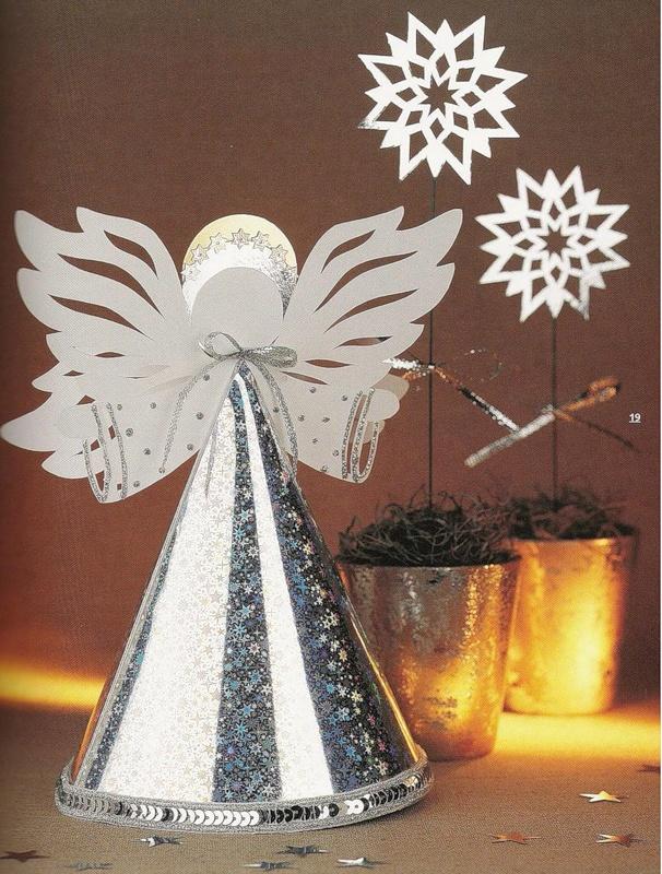 Новогодние поделки из бумаги картинки