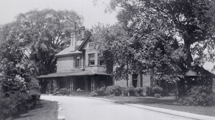 Jarvis, Edgar John, 'Glenhurst', Elm Ave., n. side, w. of Mt. Pleasant Rd. : Toronto Public Library