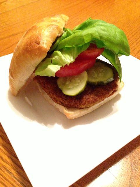 Veggie Burger/Sand on Pinterest | Lentil burgers, Mushroom burger ...