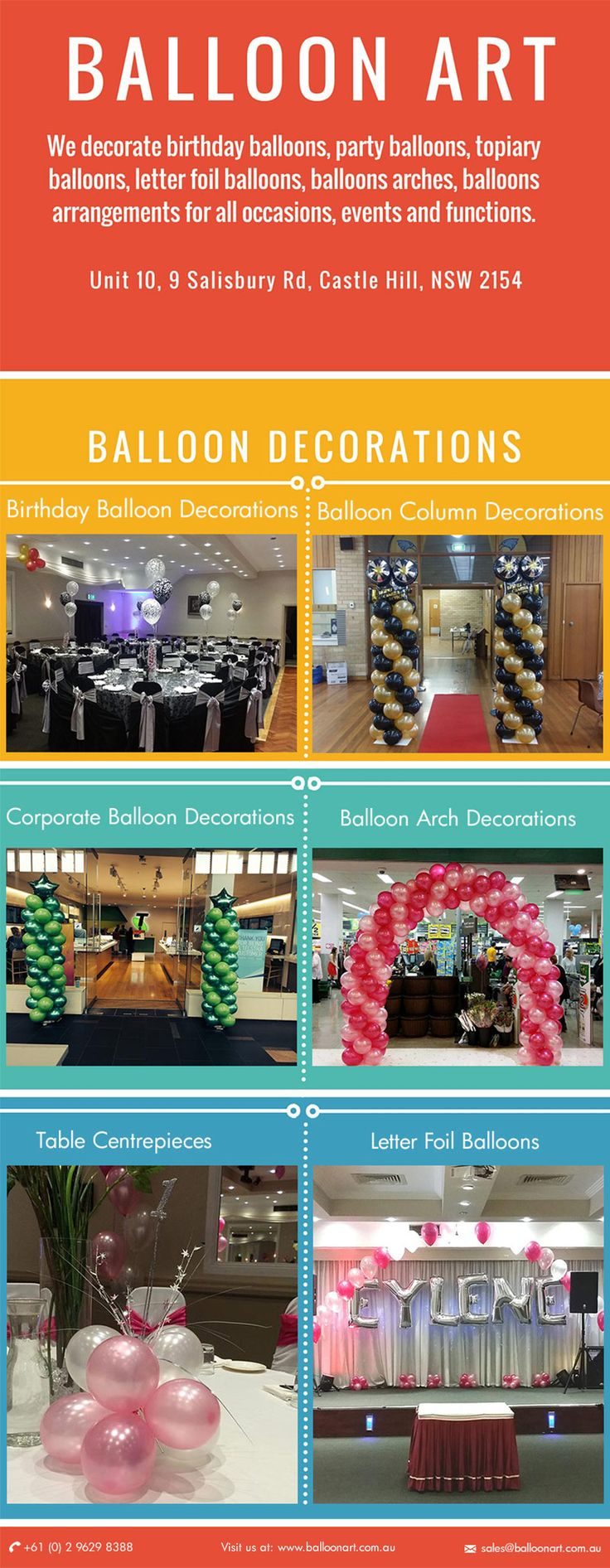 Stunning balloon decoration for #corporate event http://www.balloonart.com.au/corporate-balloon-decorations-and-arrangements/ #Balloon #Art