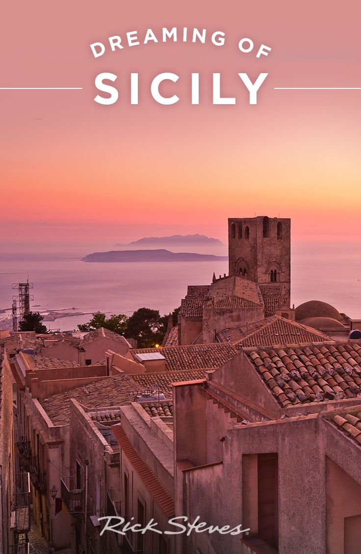 Visit enchanting Erice, Sicily — believed by Romans to be the home of Venus  — on Day 3 of the Rick Steves Best of Sicily Tour.