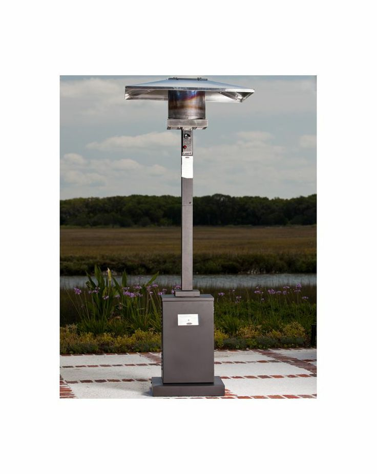 Enjoy Your Outdoor Patio Even In The Colder Months With The Fire Sense  Square Lamp Head Patio Heater