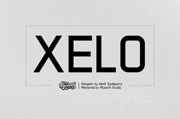 Xelo by Atjcloth Studio on @creativemarket