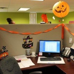 Halloween Theme Decorations Office