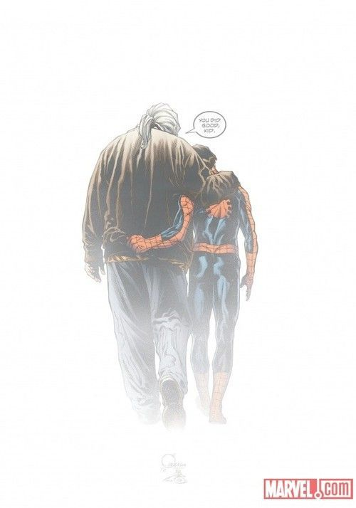 Ultimate Spider-Man Final Cover - Joe Quesada
