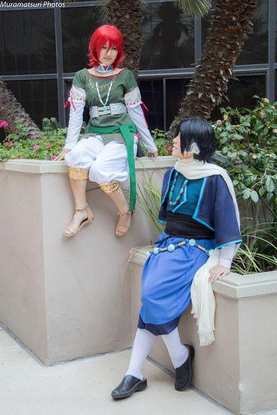 Dawn of the Arcana's Nakaba and Loki - Daily Cosplay - Interest - Anime News Network
