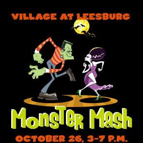 monster mash village at leesburg - Halloween Events In Va