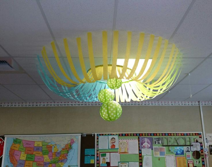 Classroom Decor Ceiling ~ The best classroom ceiling decorations ideas on