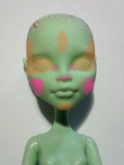 The Brain of Oak - How to paint a doll face the Oak23 Method!