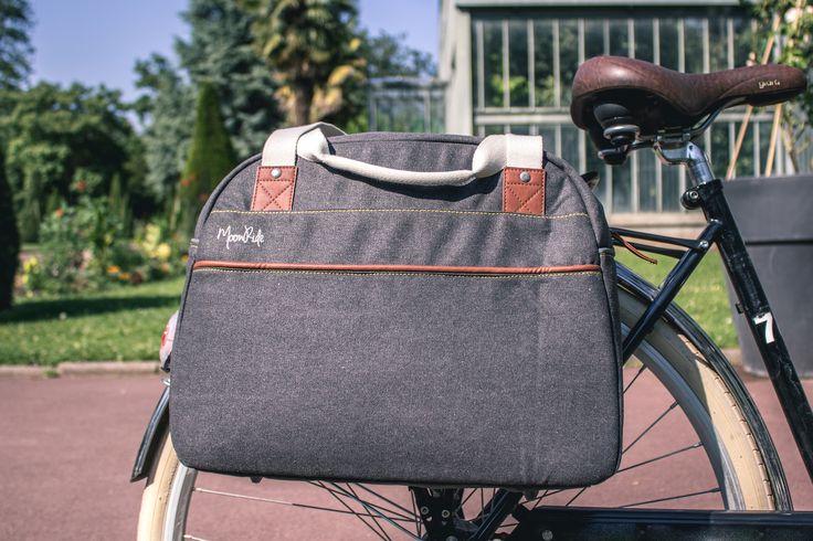 Sacoche simple/ Bowling saddle bag   #MoonRide #MoonRideSpirit #collection #SweetBoheme #sweet #boheme #lovely #woman #femme #backpack #bike #trendy #tendance #fashion #lifestyle #street #urban #summer #paris #vélo #bike #city #safety #sac #bag