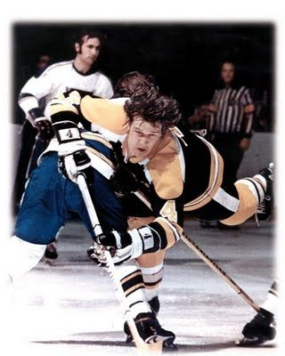 Bobby Orr, one of the best defensive players in NHL history.
