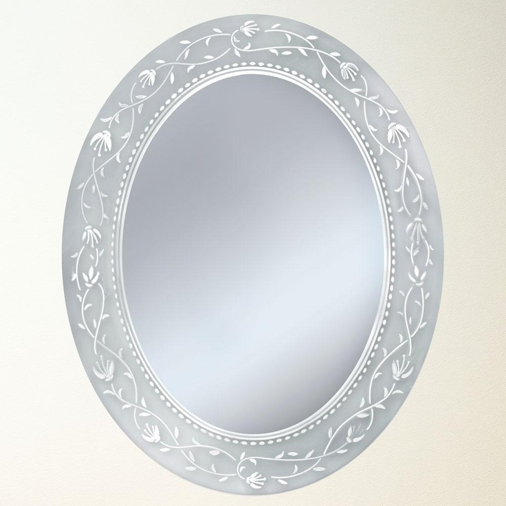 Website With Photo Gallery Fuschia Oval Bathroom Mirror Bathroom Mirrors Pinterest Oval bathroom mirror Bathroom mirrors and Border design