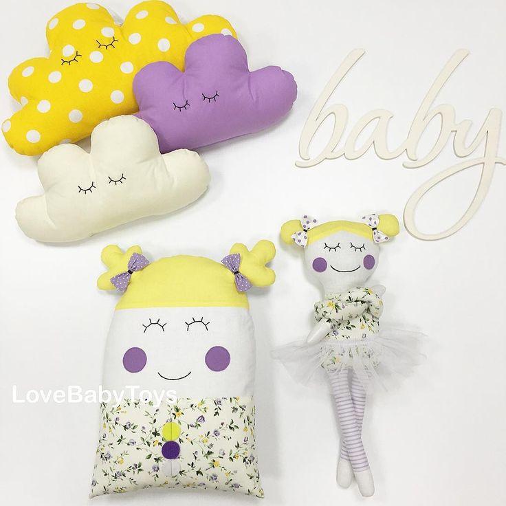 Луиза и Молли обожают теплое лето, модные наряды и прогулки с друзьями-облачками👸🏼💜👒👗🌤✨ LoveBabyToys®