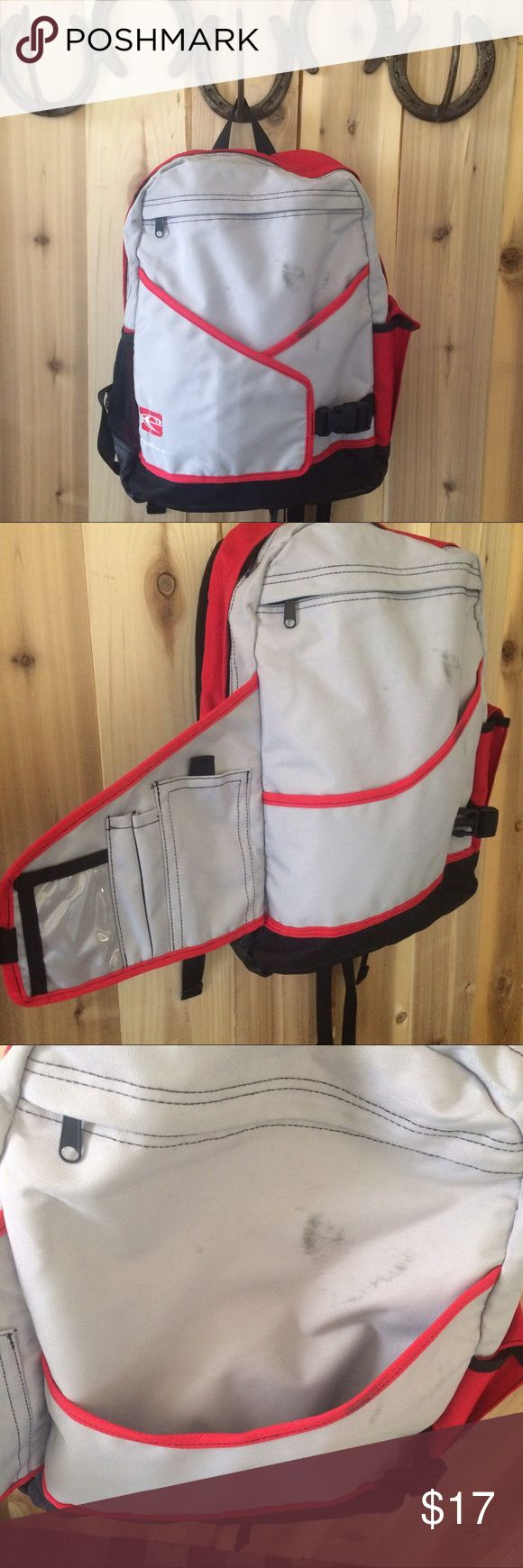 O'Neill sport surf skate book laptop backpack Good used condition with a stain on the front. Adjustable shoulder and waist straps. O'Neill Bags Backpacks