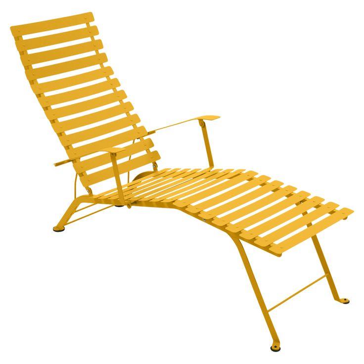 Bistro Chaise Longue, honey i gruppen Rom / Utendørs / Utendørsmøbler hos ROOM21.no (1029386)