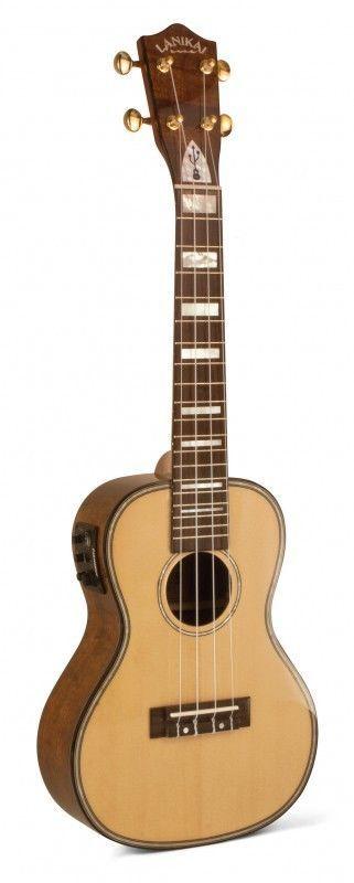 """Lanikai """"UKESB"""" Model LKS-CEU Concert Size Ukulele Bundle w/ Bag, Strings & More #LANIKAI #UKULELE"""