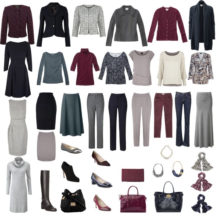 Avoid the 4 tops that all only go with the black trousers syndrome...build a capsule wardrobe