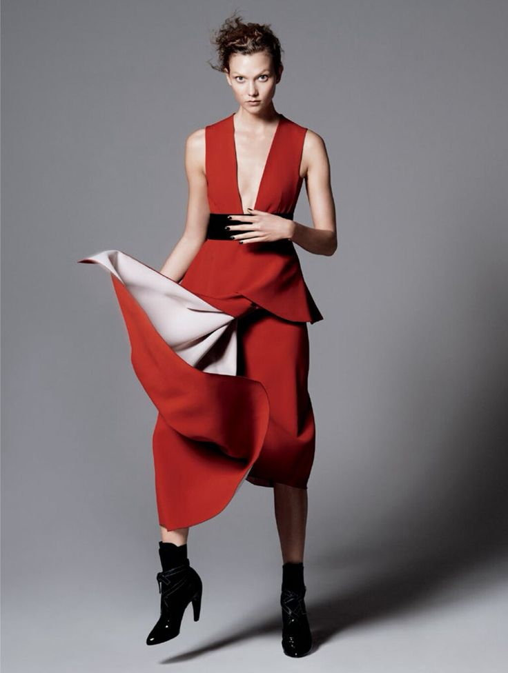 karlie kloss by david sims for vogue july 2014