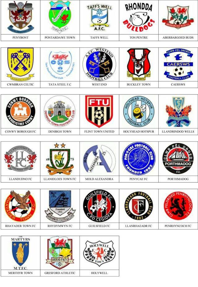 Equipos Futbol Gales Equipo De Fútbol Fútbol Liga De Futbol
