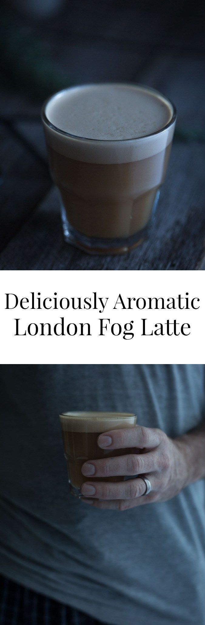 My Deliciously Aromatic London Fog Latte includes a waft of lavender and a tiny pinch of salt to enhance the intoxicating Earl Grey and vanilla flavours.