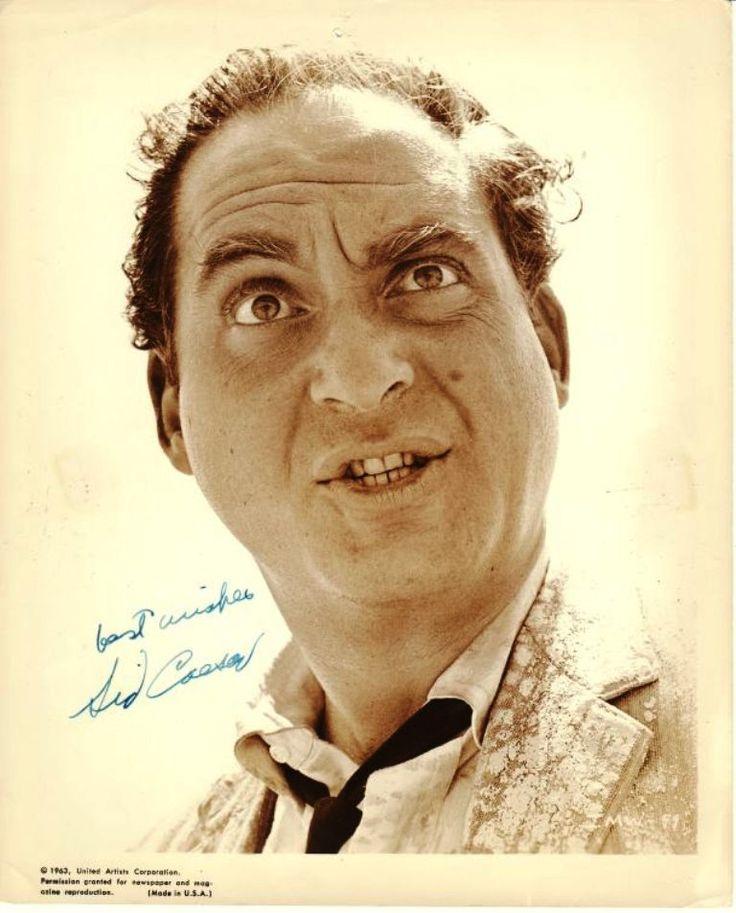 Sid Caesar | Sid Caesar autograph on 10x8 photograph