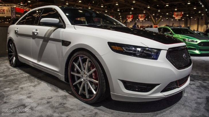 2012 SEMA: 2013 Ford Taurus SHO by CGS Motorsports [Live Photos] - autoevolution for Mobile