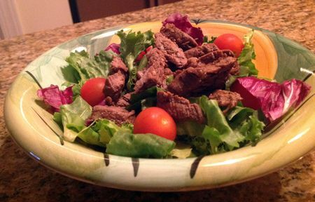 Steak Salad's are perfect for easy summer meals!