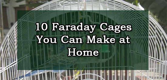 10 Faraday Cages You Can Make at Home :http://www.askaprepper.com/10-faraday-cages-you-can-make-at-home/