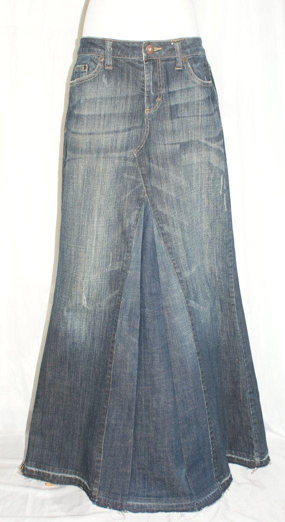 120 best DIY denim skirts images on Pinterest | Skirts, Denim ...
