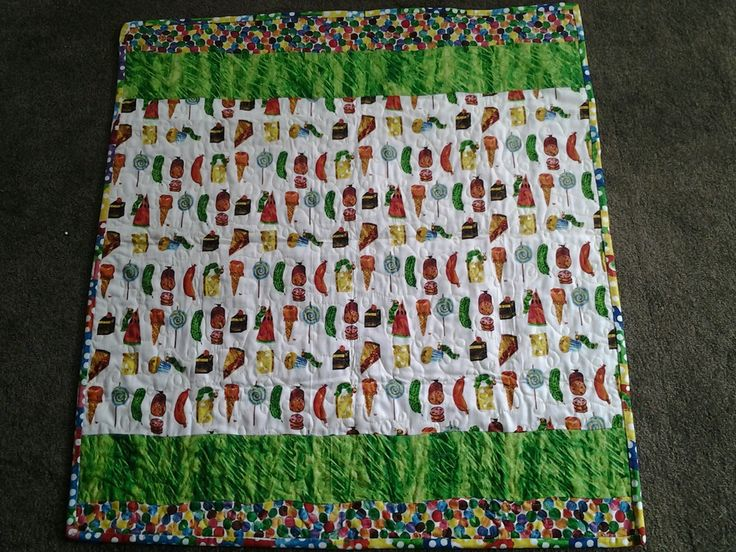 Back of Hungry Caterpillar.