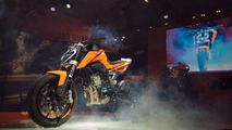 KTM has unveiled this week in Milan at EICMA a prototype of a 790 Duke motorcycle powered by a 790-cc engine.