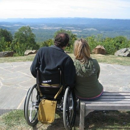 I'm married to a handsome, funny, caring man who happens to be a c5/6 quadriplegic. Our life isn't ordinary. At times we feel like rock stars riding the high of achievement together. Sometimes, we hold each other and just cry. This is a look at some of the challenges we've faced in our marriage of just four years so far, together. Admittedly, this is our experience. I recognize each marriage and each disability and couple face different challenges in different ways.