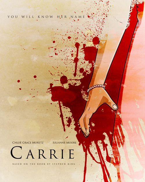 Carrie - movie poster - Linda Hordijk