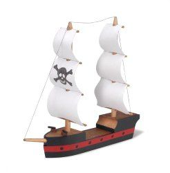 Pirate Ship Craft Kit for Children to Build their Own Ships