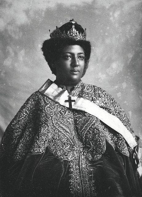 Crown Princess (later Empress) Menen Asfaw of Ethiopia. | Flickr - Photo Sharing!