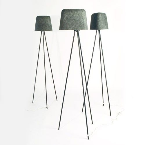 Add a warm touch of light to your felt with Tom Dixon's Felt Shade Floor Lamp. http://www.yliving.com/blog/five-favorites-modern-felt/