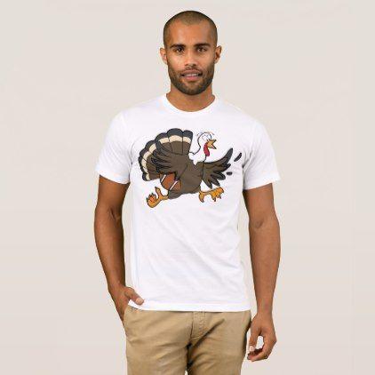 Thanksgiving Turkey Football Fan Shirt Quarterback - thanksgiving day family holiday decor design idea