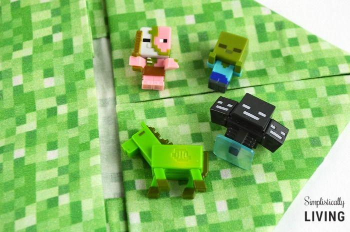 DIY No-Sew Minecraft Bag Simplistically Living