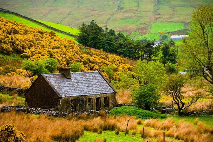 Farm house, County Mayo, Western Ireland