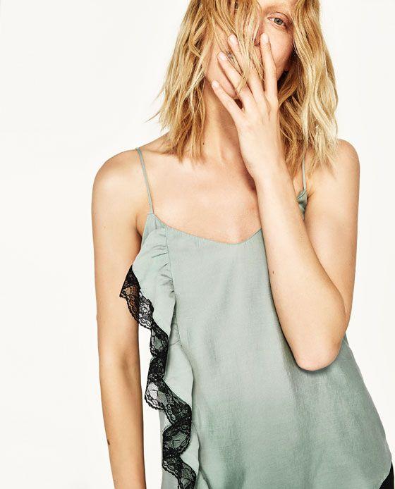 Imagen 2 de TOP LENCERO de Zara