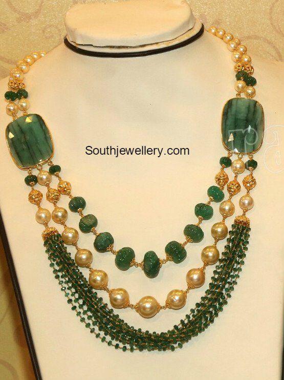 22 Carat Gold Beads Mala photo