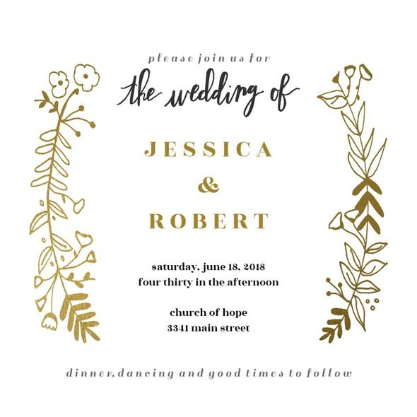 Best 25+ Free wedding invitation templates ideas on Pinterest - free dinner invitation templates printable
