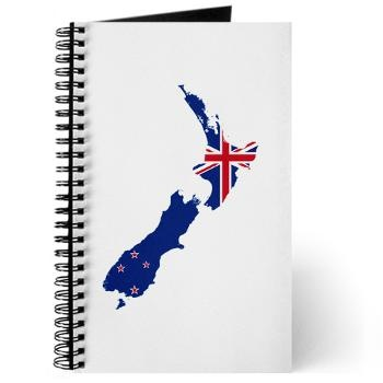 Flag Map of New Zealand Journal