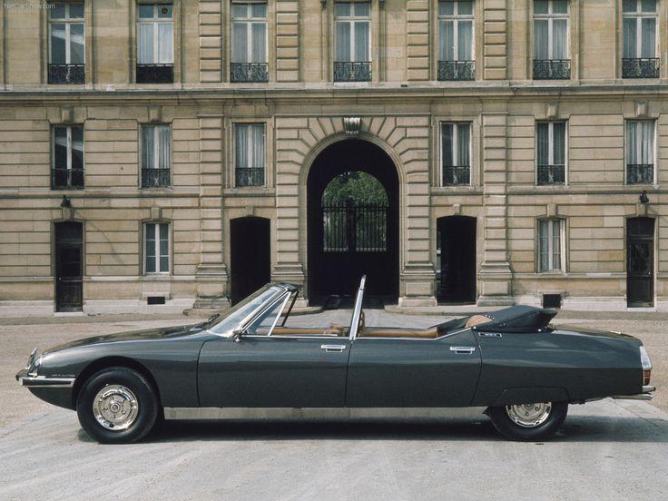 1972 Citroen SM Presidential. v@e.
