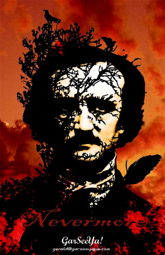 Edgar Allan Poe.  GarSeeYa!