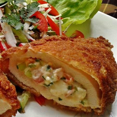 Egy finom Csípős-krémsajtos rántott csirkemell ebédre vagy vacsorára?…