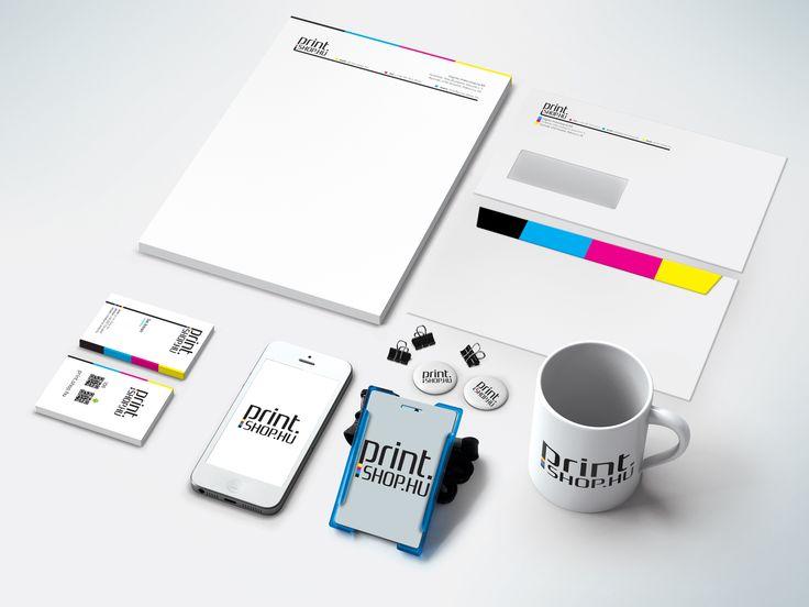 Print.shop.hu arculat terv