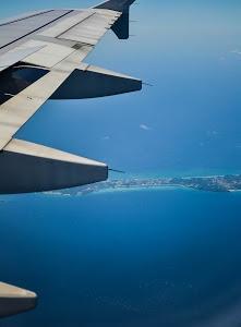 Cruising above the island of Boracay