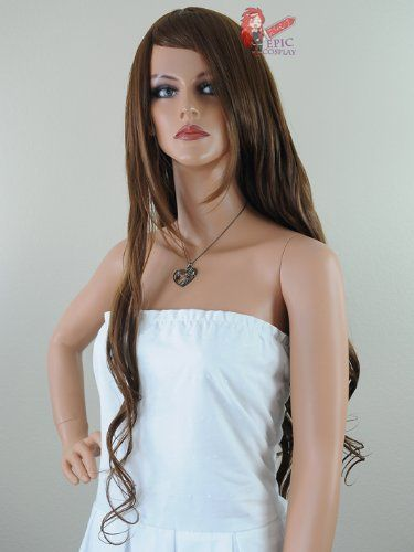 Epic Cosplay Hera Walnut Brown Curly Wig 38 Inches (25WB) *** See this great product.