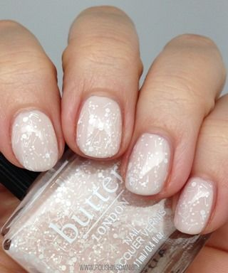 butter LONDON Doily over Pink Ribbon (Sweet Nothings Collection)
